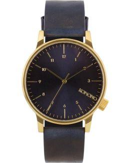 Regal Blue Winston Watch