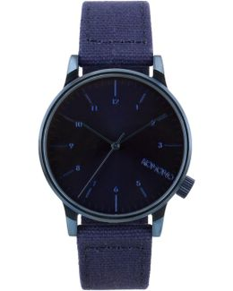 Heritage Monotone Blue Winston Watch