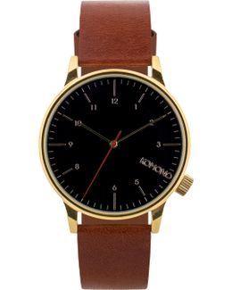 Brown Winston Regal Watch