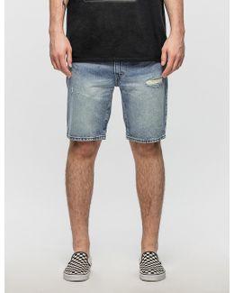 505c Slim Straight Shorts Pert