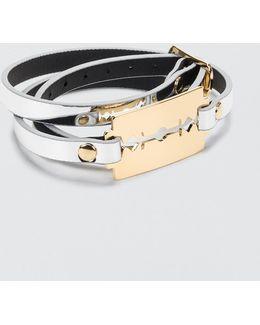 Razor Triple Wrap Bracelet