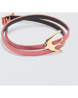 Swallow Mini Wrap Bracelet