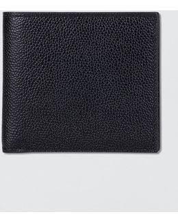 Pebble Grain Leather Billfold Wallet