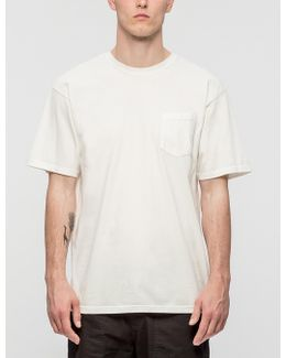 Checker Stock Pigment Dyed Pocket T-shirt