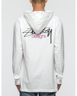 Designs L/s Hooded T-shirt