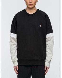 Three Colored Sweatshirt
