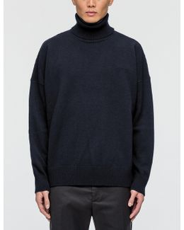 Turtle Neck Oversize Fit Sweater