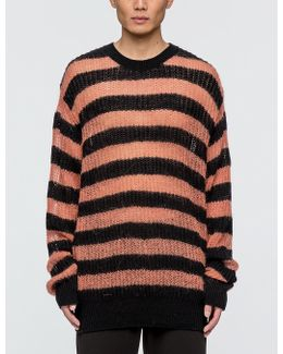 Graphic Jacquard Knit Sweater