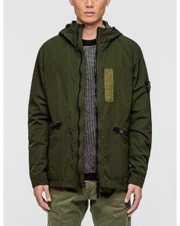 Nylon Flock Jacket