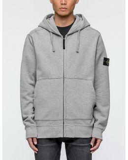 Garment Dyed Zip Hoodie