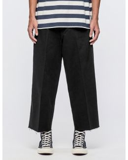 L8 Wide Cropped Trousers