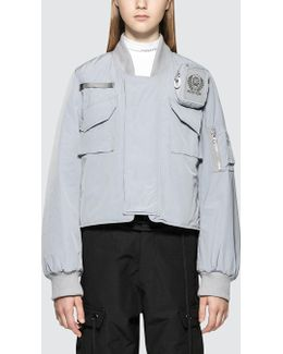 Ma-1 Jacket With Cigarette Pouch