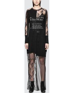 Cut Up Dress