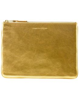 Sa5100g Leather Pouch Gold