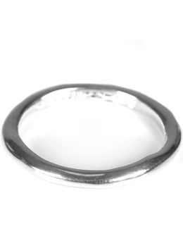 Image Silver Round Ring Womens