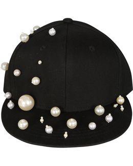 Pearl Baseball Cap Black