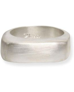 Tumi Asymmetrical Ring Silver