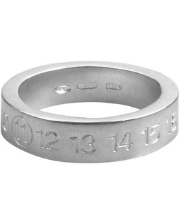 Argento Band Ring Silver