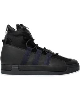 Atta Hi-top Sneakers Black