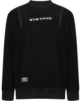 Zip Up Sweater Black