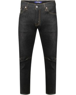Selvedge Wash Jeans Navy