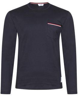 Long Sleeve Pocket T-shirt Navy