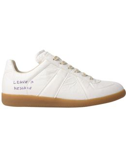 Customisable Replica Sneakers White