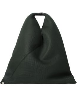 Perforated Japanese Tote Bag Green