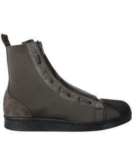 Pro Zip Sneakers Forest Green