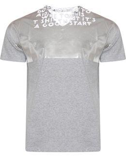 Aids Awareness Charity T-shirt Grey