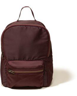 Mini Satin Backpack
