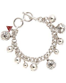 Rhodim Bauble Bracelet