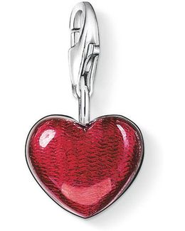 Charm Club Big Red Heart
