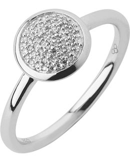 Diamond Essentials Pave Ring - Ring Size N