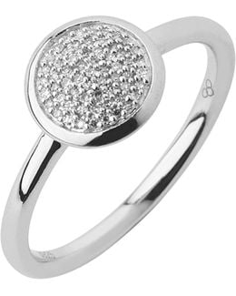 Diamond Essentials Pave Ring - Ring Size P
