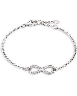 Charm Club Infinity Symbol Bracelet