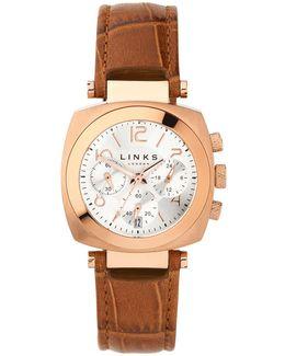 Brompton Silver Dial Chronograph Watch