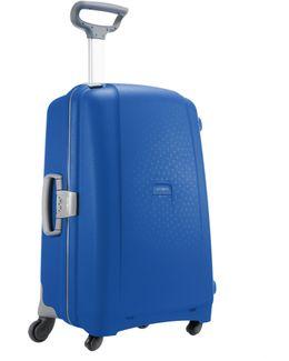 Aeris Vivid Blue 4 Wheel Hard Large Suitcase