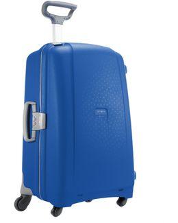 Aeris Vivid Blue 4 Wheel Hard Extra Large Case