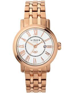 Richmond Bracelet Watch With White Dial