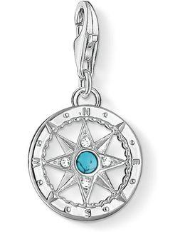 Charm Club Compass Pendant