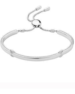 Narrative Silver Bracelet
