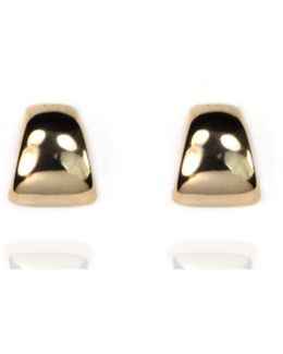 Peirced Button Post Earrings