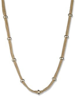 Mesh Strand Necklace