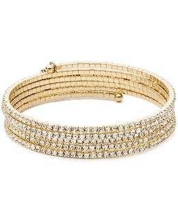 Goldtone Multi-strand Bangle