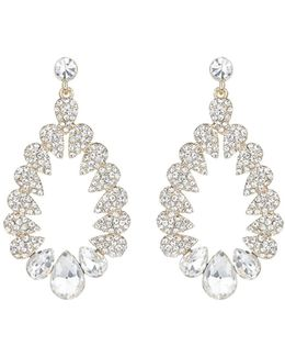 Multi Oval Marquise Filligree Earring