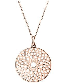 Timeless Rose Gold Large Necklace