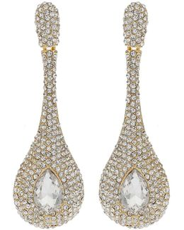 Triple Eclipse Crystal Studded Earring