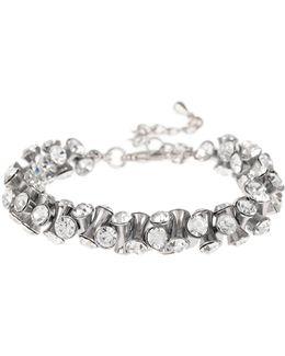 Cubic Dumbell Beads Elastic Bracelet