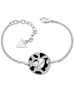 Rhodium Plated Bracelet